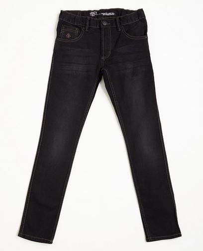 Nachtblauwe skinny jeans, dry denim